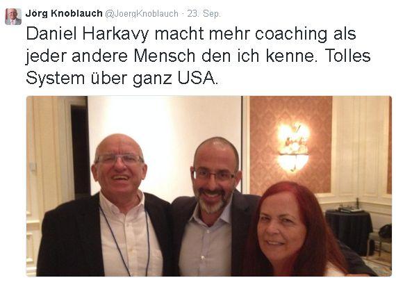 Daniel Harkavy Coaching