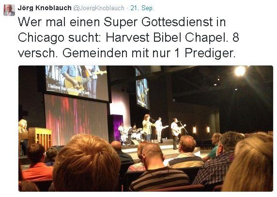 Harvest Bibel Chapel.